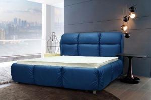 Кровать синяя Феличита - Мебельная фабрика «МебельДа»