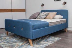 Кровать модная Скандинавия - Мебельная фабрика «Мелодия сна»