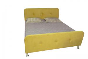 Кровать мягкая Скандия - Мебельная фабрика «Виктория-мебель»