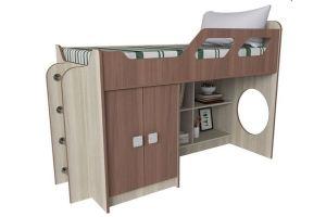 Кровать со шкафом детская Вега 7 - Мебельная фабрика «Квадрат»