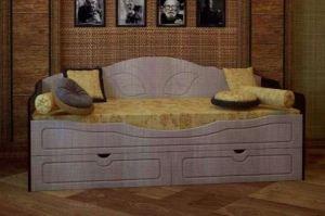 Кровать софа с ящиками - Мебельная фабрика «ТФМ XXI»