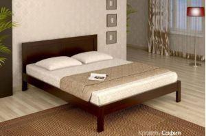 Кровать София из массива бука - Мебельная фабрика «Верба-Мебель»