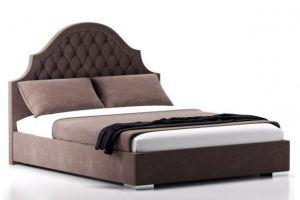 Кровать София с фигурным изголовьем из каретной стяжки - Мебельная фабрика «Danis»
