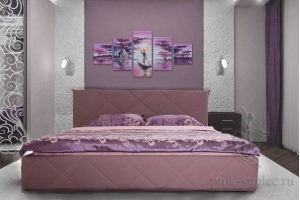 Кровать Соло с ортопедическим основанием - Мебельная фабрика «ПМК Стрелец»