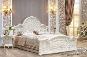 Кровать спальная Barocco - Мебельная фабрика «Аристократ»