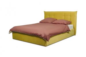 Кровать спальная горчичная Валери - Мебельная фабрика «Коста Белла»