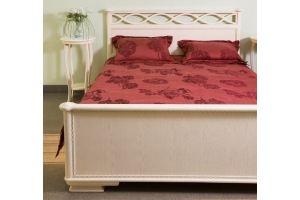 Кровать спальная из массива дуба - Мебельная фабрика «Леспром»