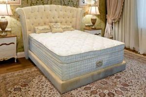 Кровать спальная с изголовьем Atlantida - Мебельная фабрика «Велес»