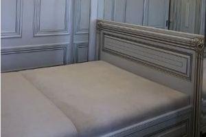 Кровать спальная с патиной - Мебельная фабрика «Эксклюзив»