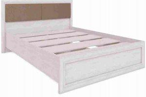 Кровать спальная светлая Саванна - Мебельная фабрика «РИННЭР»
