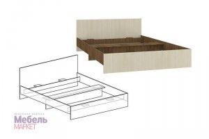 Кровать Светлана с прямой спинкой - Мебельная фабрика «Мебель-маркет»