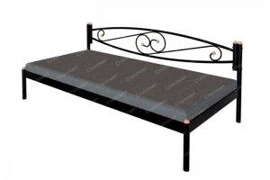 Кровать тахта металлическая Волна - Мебельная фабрика «Стиллмет»