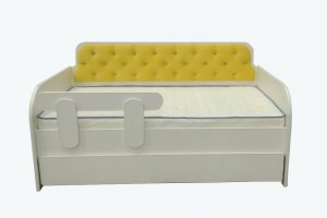 Кровать-тахта с каретной стяжкой - Мебельная фабрика «Mebel_Club73»
