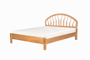 Кровать Татьяна из массива бука - Мебельная фабрика «Фабрика сна»