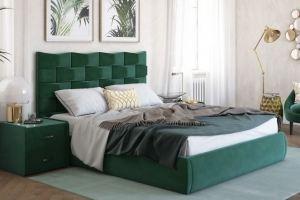 Кровать темная зеленая Фортресс - Мебельная фабрика «Sensor Sleep»