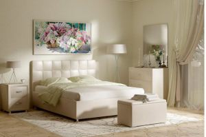 Кровать Tivoli с подъемным механизмом - Мебельная фабрика «Family»