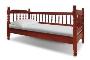 Кровать Точеная 3 спинки - Мебельная фабрика «Святогор Мебель»