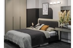 Кровать Толедо с двойным изголовьем - Мебельная фабрика «Артис»