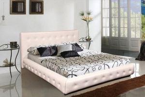 Кровать Топаз с каретной стяжкой - Мебельная фабрика «Владикор»