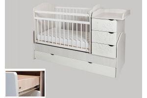 Кровать-трансформер Сафаня № 2 с фрезеровкой - Мебельная фабрика «Сафаня»