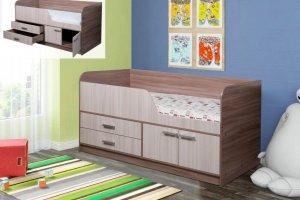 Кровать детская с ящиками Умка - Мебельная фабрика «ДиВа мебель»