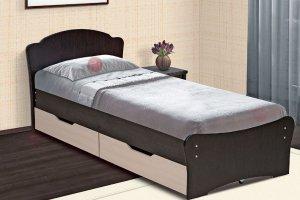 Кровать односпальная универсальная - Мебельная фабрика «Виктория»