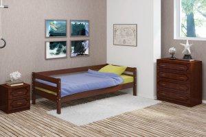Кровать в детскую Глория орех - Мебельная фабрика «Bravo Мебель»