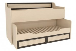 Кровать в детскую комнату ДК-1 - Мебельная фабрика «Alicio»