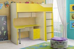 Кровать в детскую Радуга-2 - Мебельная фабрика «Уютный Дом»