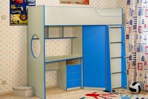 Кровать в детскую Радуга-3 - Мебельная фабрика «Уютный Дом»