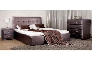 Кровать в экокоже Ника - Мебельная фабрика «Perrino»
