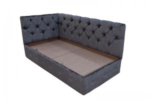 Кровать в мягкой обивке - Мебельная фабрика «Алеф+»
