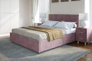 Кровать в мягкой обивке Альба - Мебельная фабрика «Лазурит»