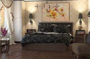 Кровать в спальню - Мебельная фабрика «Колорит»