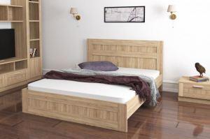 Кровать в спальню Ева - Мебельная фабрика «Континент-мебель»