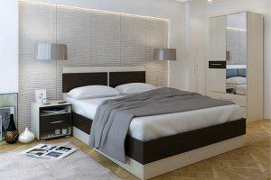 Кровать в спальню Ларна - Мебельная фабрика «Мастер»