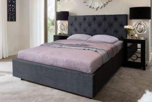 Кровать в спальню Мелиса Ромб - Мебельная фабрика «Дуэт»