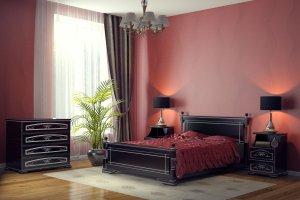 Кровать в спальню Ромео - Мебельная фабрика «DM- darinamebel»