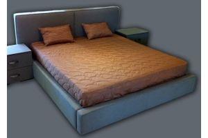 Кровать в текстиле и ткани Шармэ - Мебельная фабрика «Финнко-мебель»