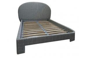 Кровать в ткани Клетка - Мебельная фабрика «Софт»