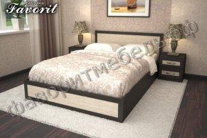 Кровать Валерия двуспальная - Мебельная фабрика «Фаворит»