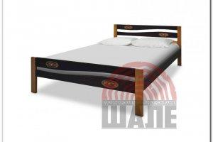 Кровать Вэлла с резьбой - Мебельная фабрика «ВМК-Шале»