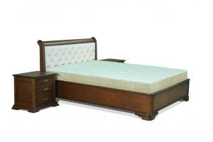 Кровать Верона с мягким изголовьем - Мебельная фабрика «Авангард»