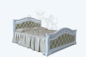Кровать Верона Verona  с кож.замом - Мебельная фабрика «Каприз»