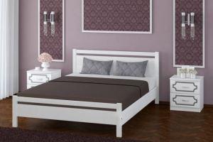 Кровать Вероника-1 белая - Мебельная фабрика «Bravo Мебель»