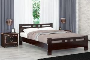 Кровать Вероника-2 орех - Мебельная фабрика «Bravo Мебель»