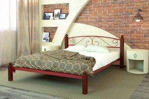 Кровать Вероника Люкс - Мебельная фабрика «DM - DarinaMebel»