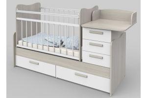Кровать Вероника шимо светлый - Мебельная фабрика «Атон-мебель»
