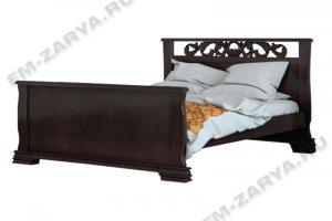 Кровать Версаль резьба - Мебельная фабрика «Заря»