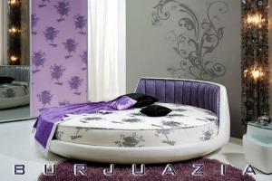 Кровать Вулькано круглая - Мебельная фабрика «BURJUA»